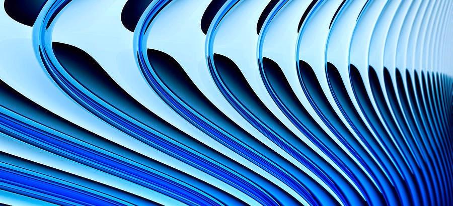 curvas azules