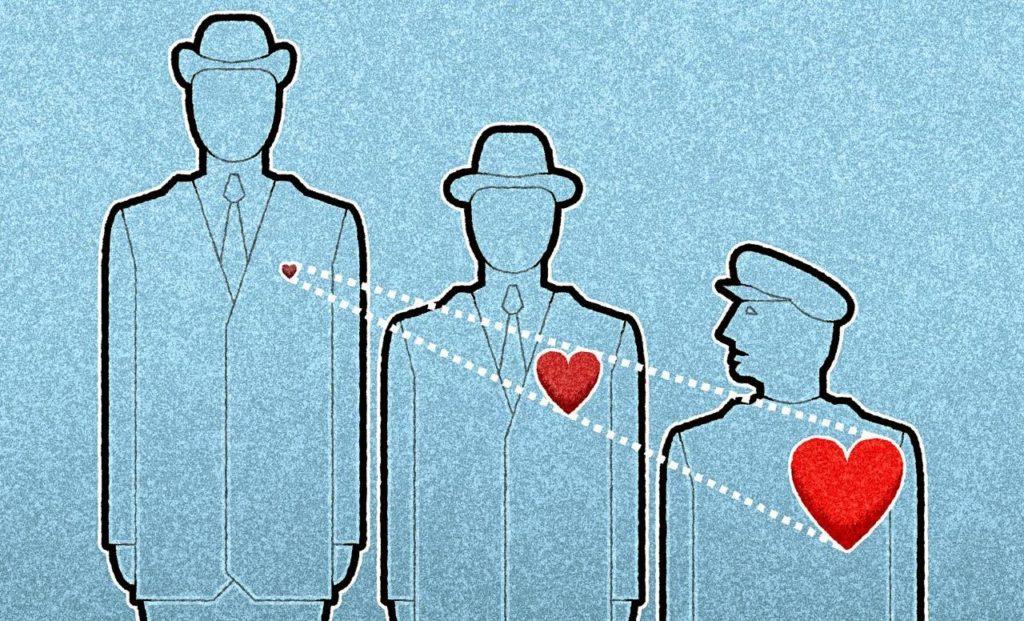corazón de los hombres