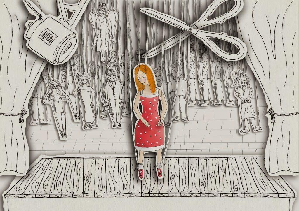 Marioneta cuerdas