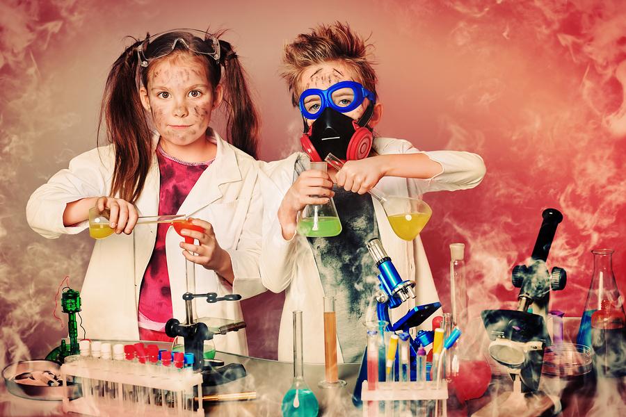 Niños científicos