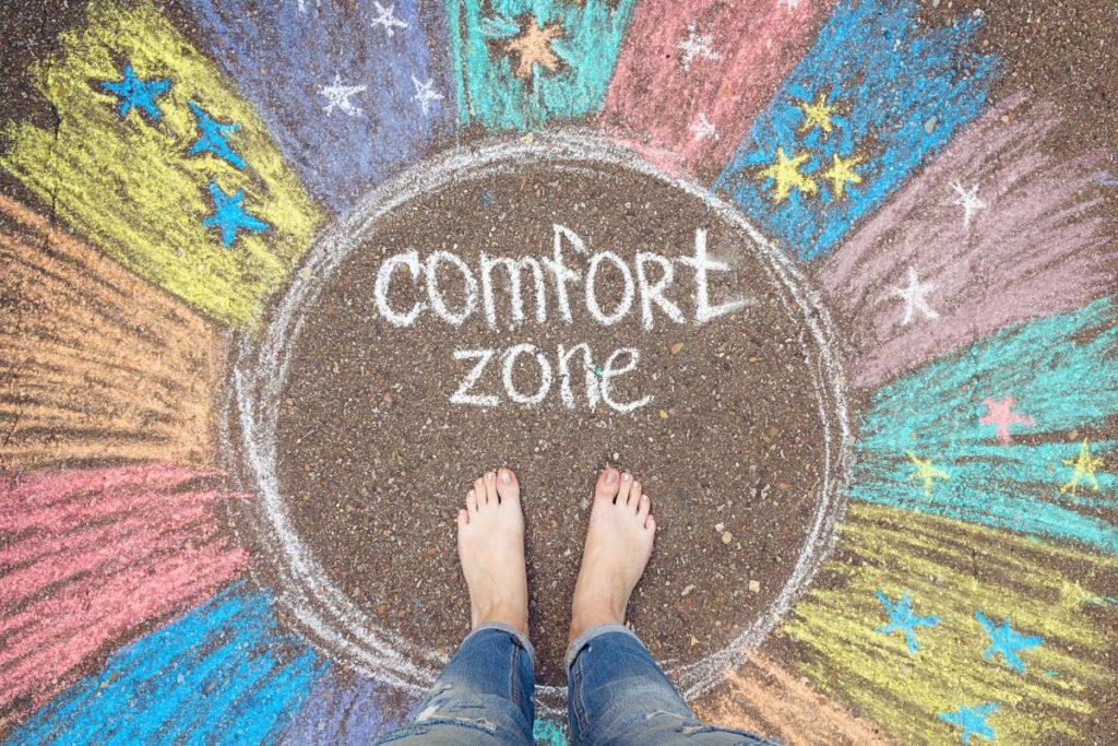 Dentro de la zona de confort