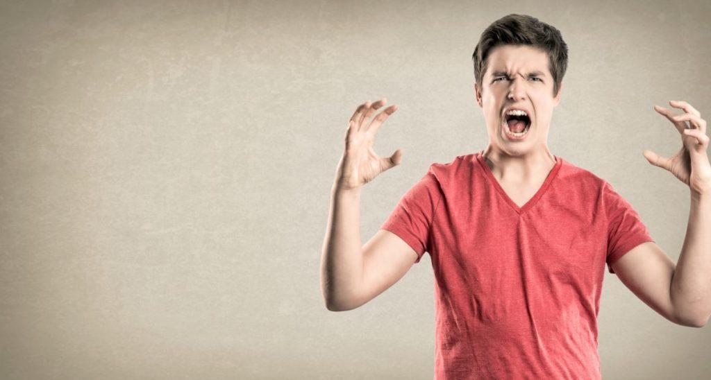Efectos físicos de la ira